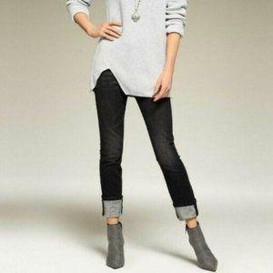 CAbi   High Rise Straight Smolder Jeans